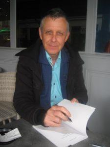 Le poète Roland Halbert (Photo Frank Redois)