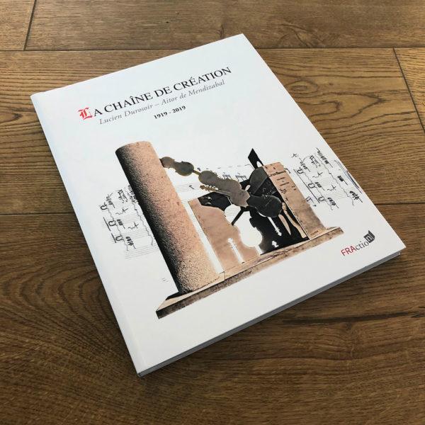 La chaîne de création de Lucien Durosoir et Aitor de Mendizabal aux éditions FRAction