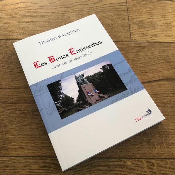 Les boucs émisserbes de Thomas Wauquier aux éditions FRAction