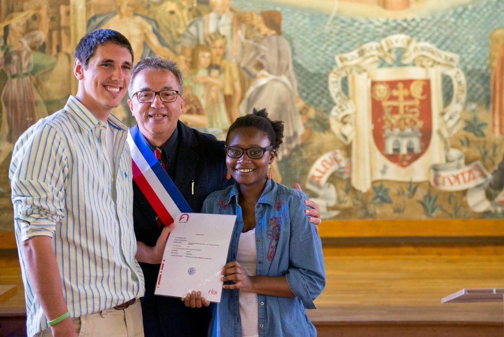 """La Saint Francis University France devient ambassadeur d' """"Albi, la Cité épiscopale"""" n°603."""